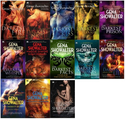 Lords of the Underworld Books 0.5-11 - Gena Showalter